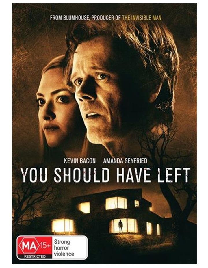 You Should Have Left DVD image 1