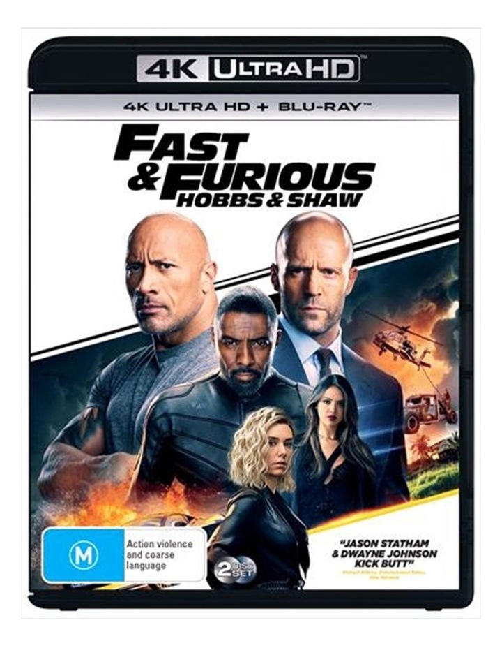 Fast and Furious - Hobbs and Shaw UHD image 1