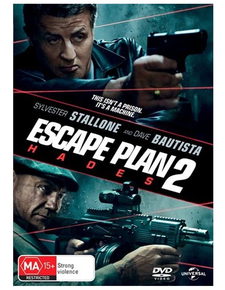 Escape Plan 2 - Hades DVD image 1