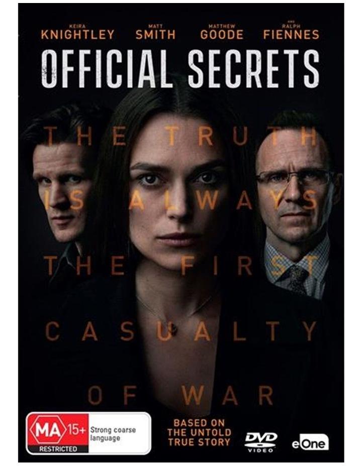 Official Secrets DVD image 1