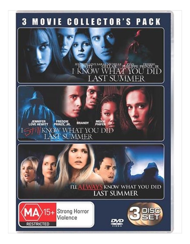 I Know What You Did Last Summer Boxset DVD image 1