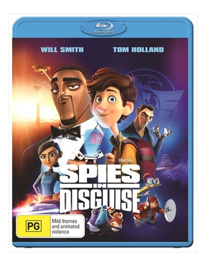 Spies In Disguise Blu-ray image 1