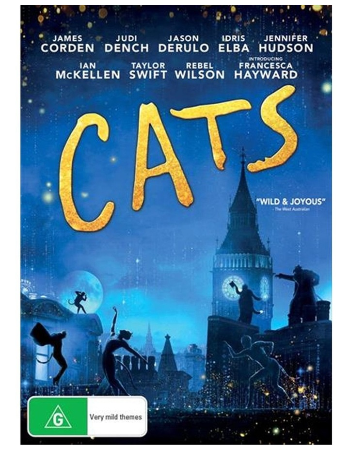 Cats DVD image 1