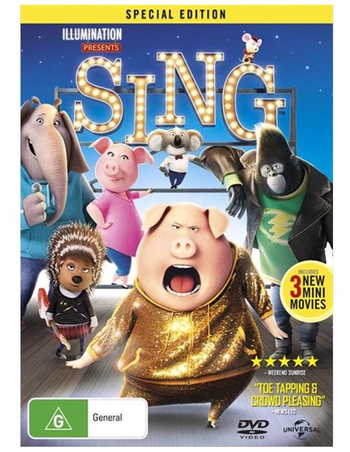 Sing - Special Edition DVD image 1