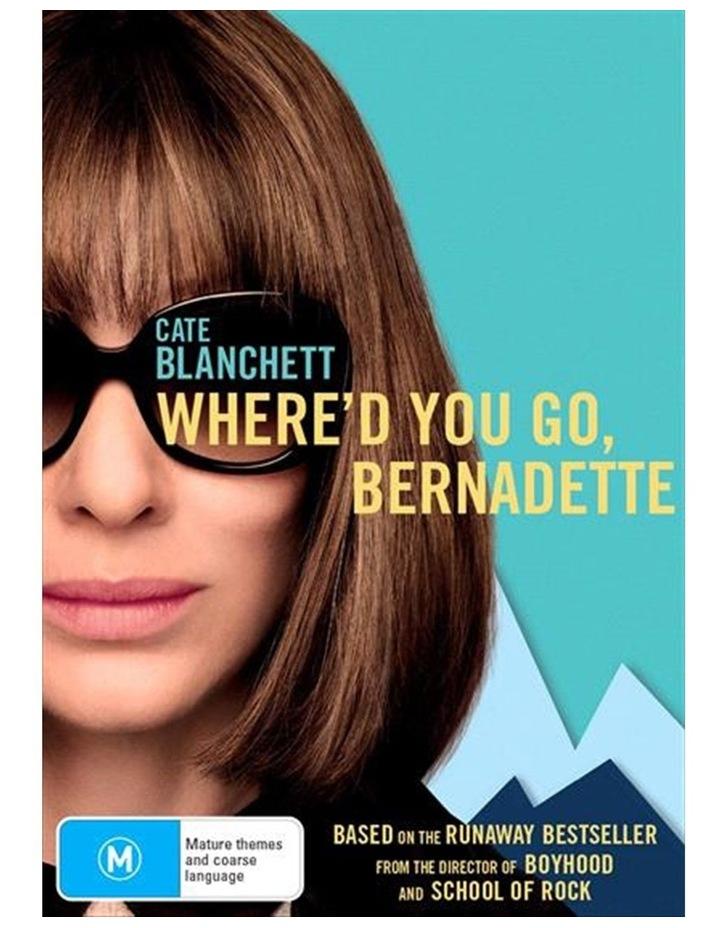 Where'd You Go, Bernadette DVD image 1