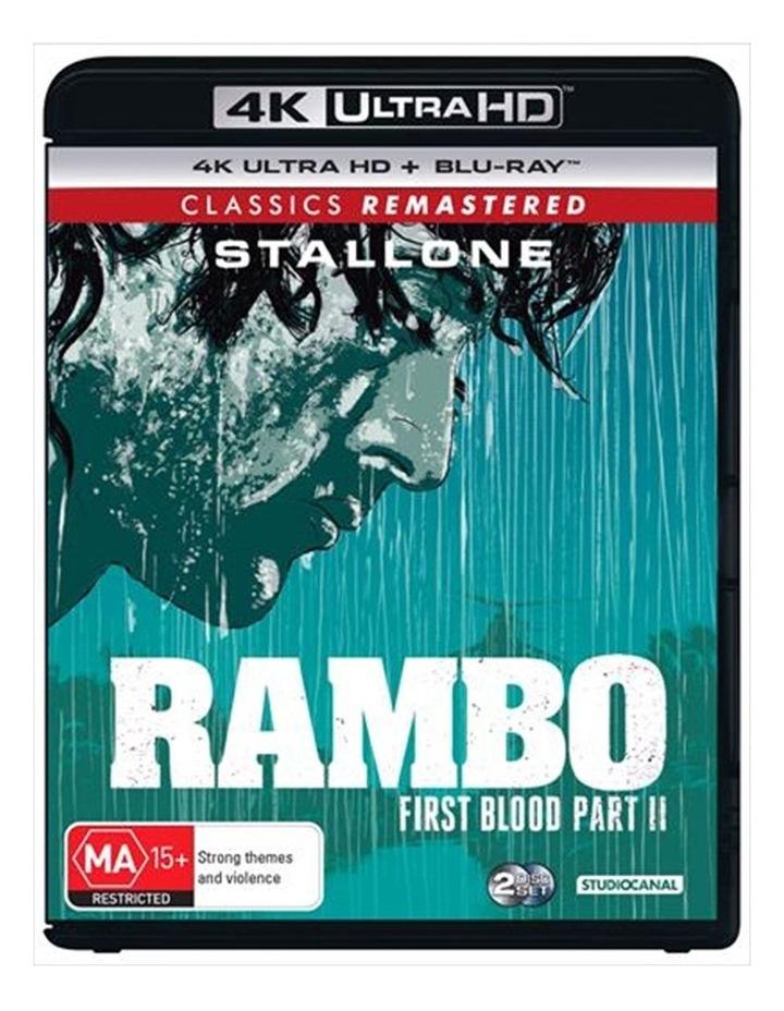 Rambo - First Blood II UHD image 1