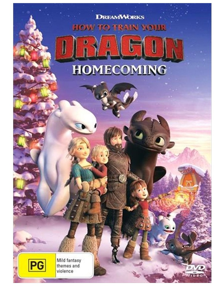 How To Train Your Dragon - Homecoming DVD image 1