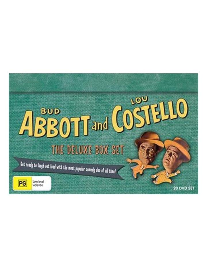 Abbott And Costello Deluxe Boxset DVD image 1