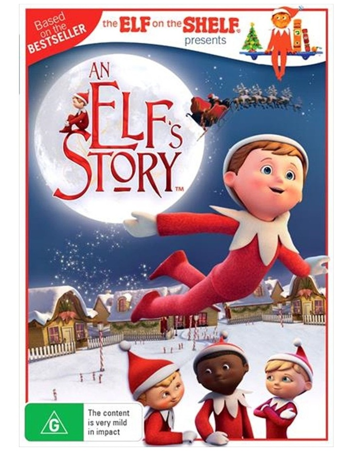 An Elf's Story - The Elf On The Shelf DVD image 1