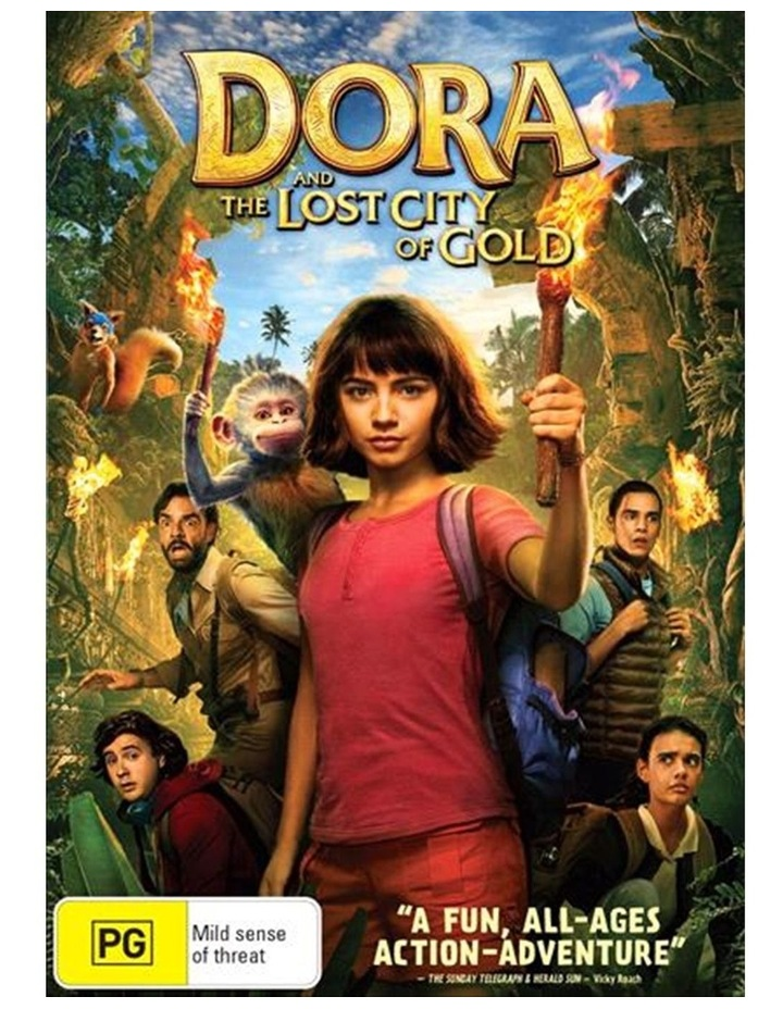 Dora And The Lost City Of Gold DVD image 1