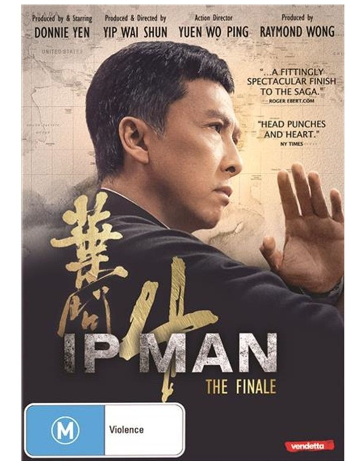Ip Man 4 - The Finale DVD image 1