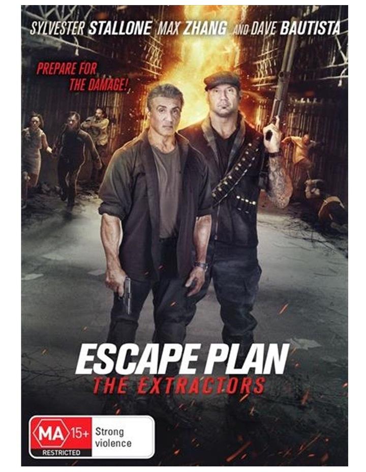 Escape Plan 3 - The Extractors DVD image 1