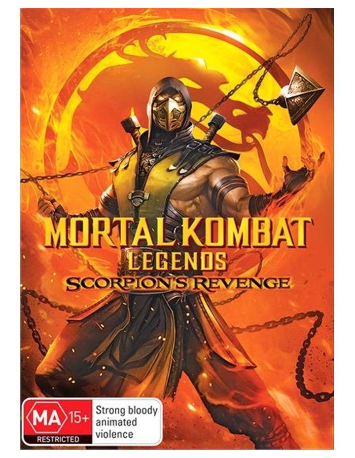 Mortal Kombat - Scorpion's Revenge DVD image 1
