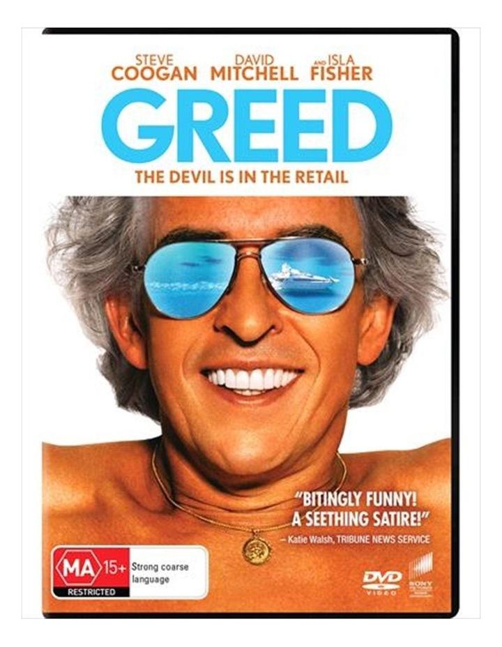 Greed DVD image 1