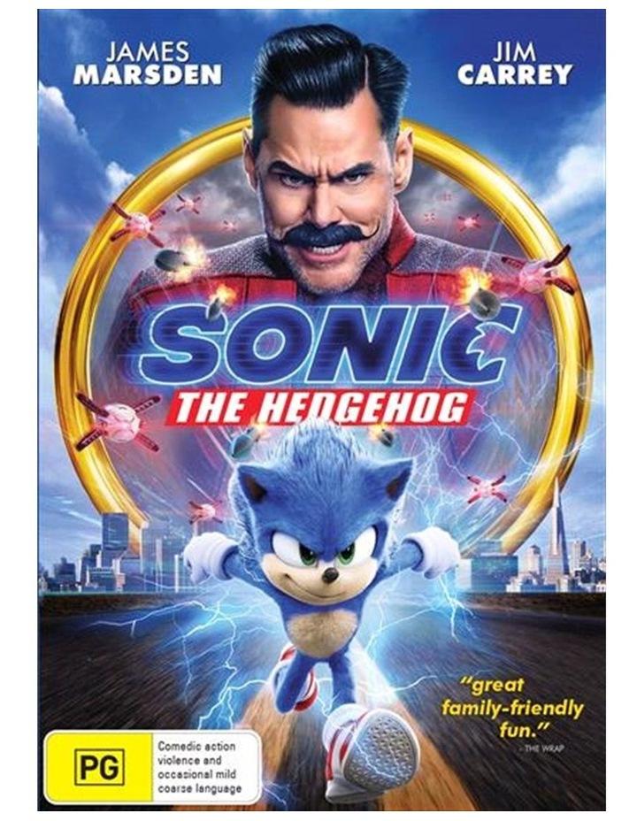 Sonic The Hedgehog DVD image 1