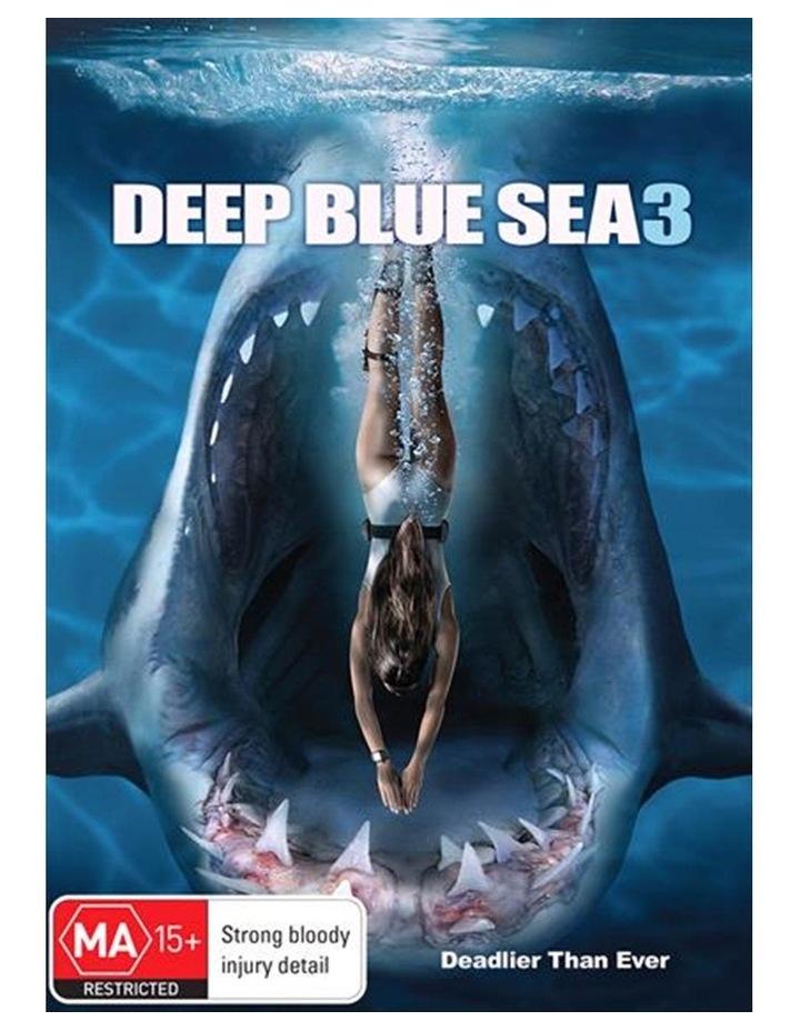 Deep Blue Sea 3 DVD image 1