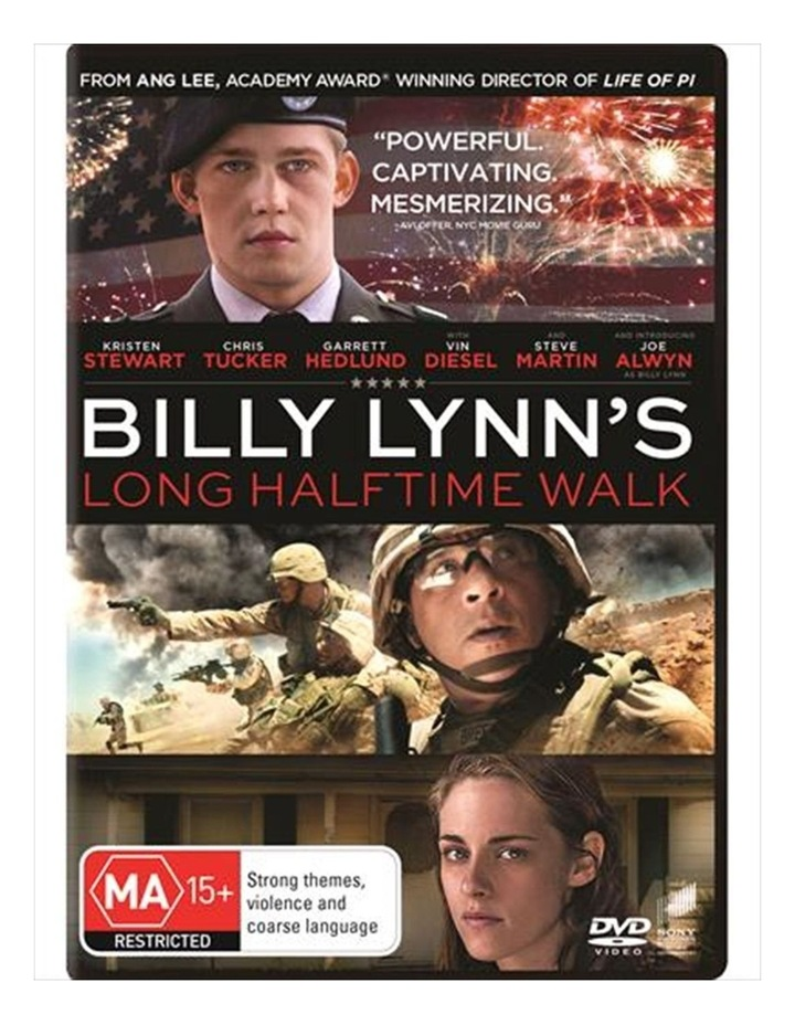 Billy Lynn's Long Halftime Walk DVD image 1