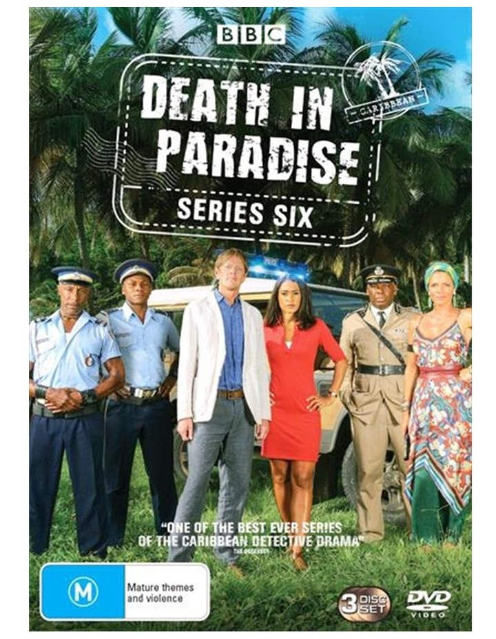 Death In Paradise - Series 6 DVD image 1