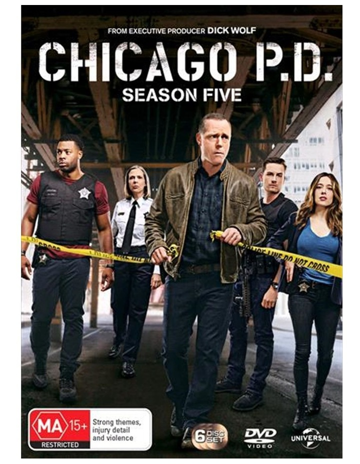 Chicago P.D. - Season 5 DVD image 1