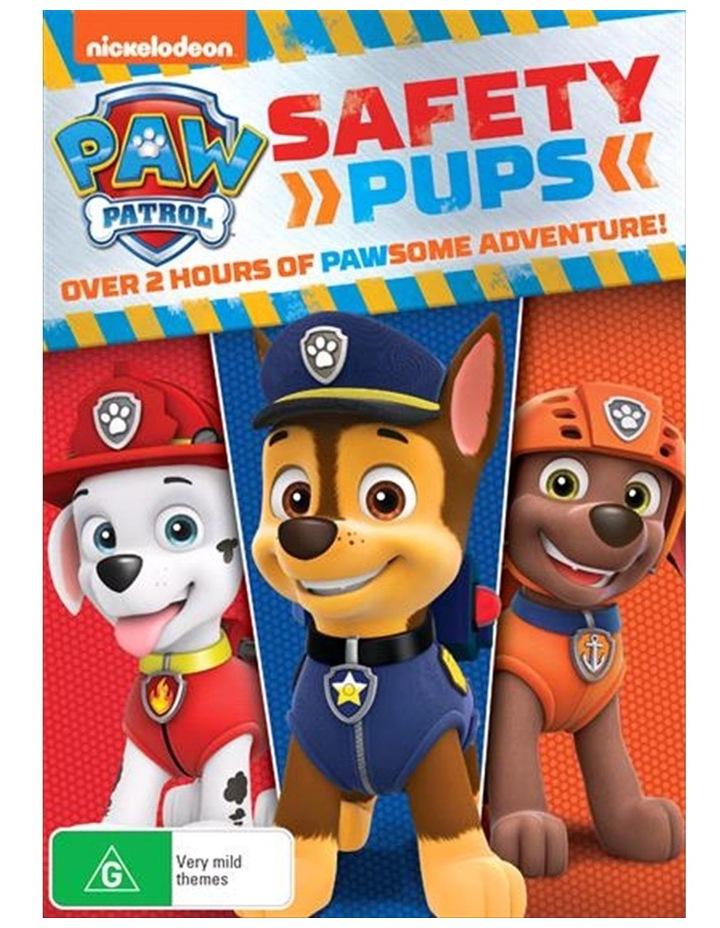 Paw Patrol - Safety Pups DVD image 1