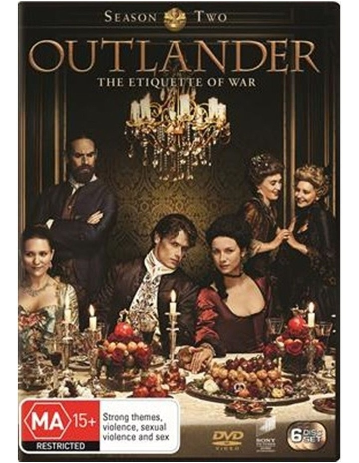 Outlander - Season 2 DVD image 1