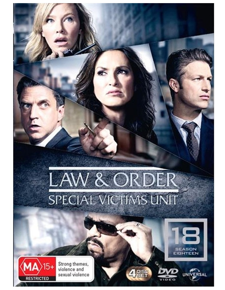 Law And Order - Special Victims Unit - Season 18 DVD image 1