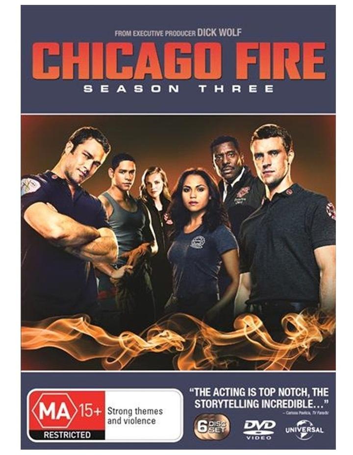 Chicago Fire - Season 3 DVD image 1