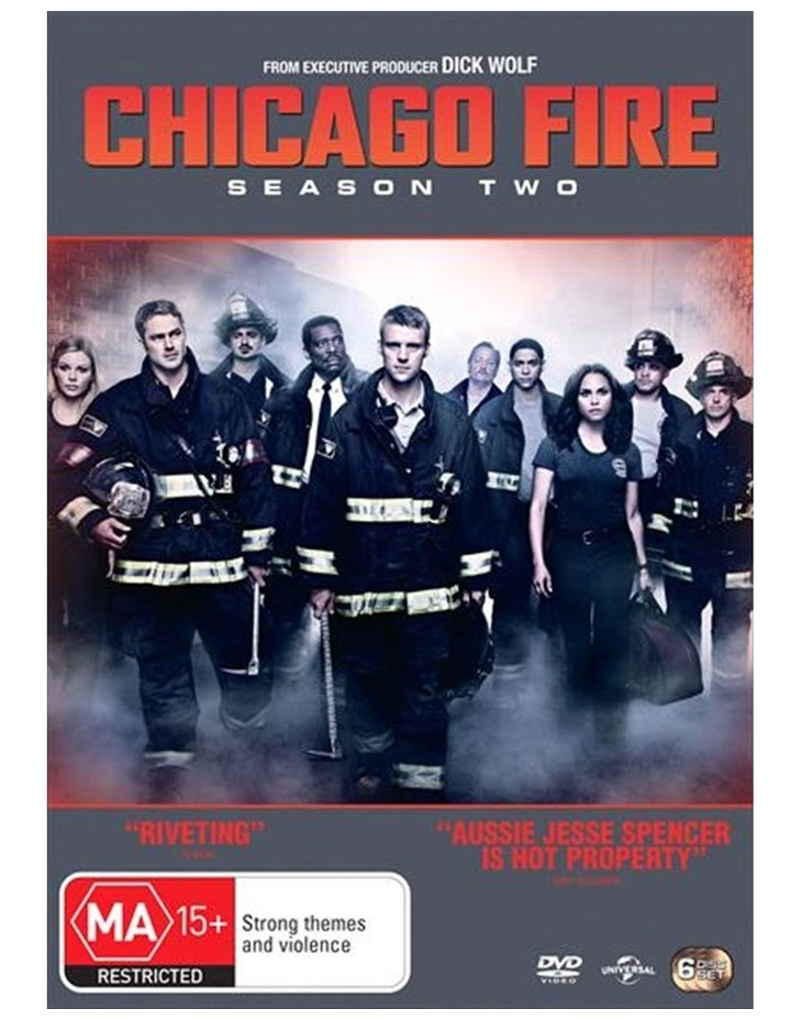 Chicago Fire - Season 2 DVD image 1