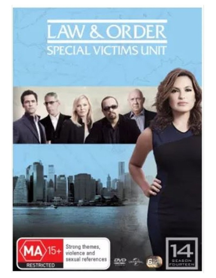 Law And Order - Special Victims Unit - Season 14 DVD image 1