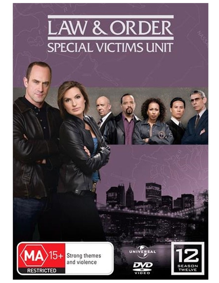 Law And Order - Special Victims Unit - Season 12 DVD image 1