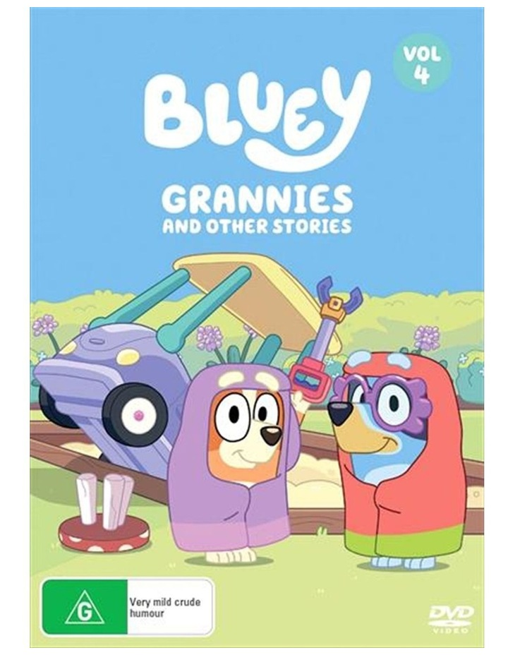 Bluey - Grannies And Other Stories - Vol 4 DVD image 1