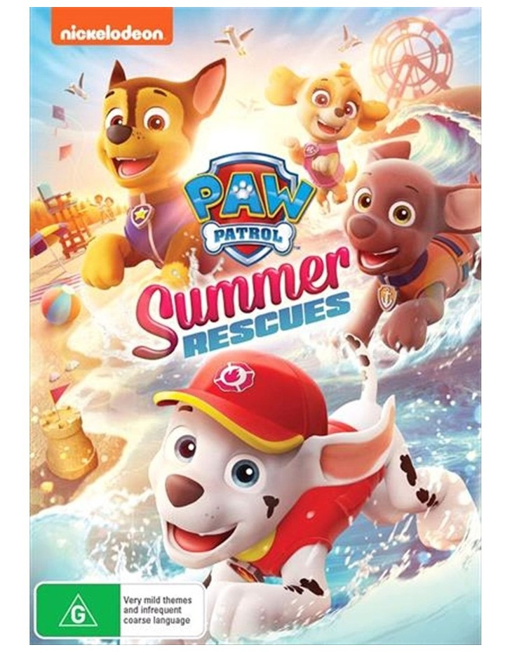 Paw Patrol - Summer Rescues DVD image 1