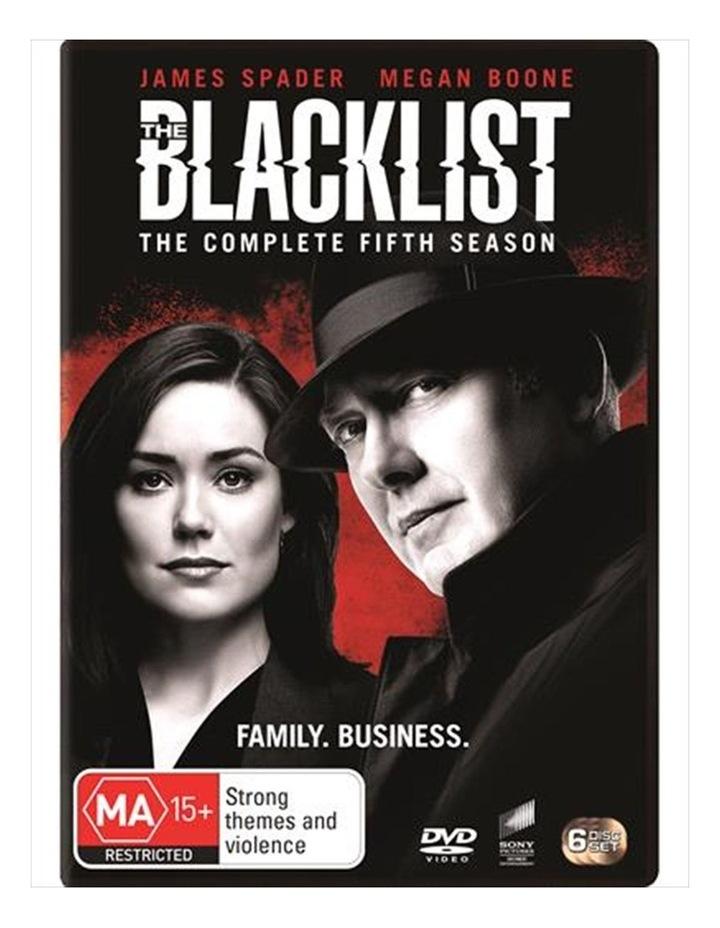 The Blacklist - Season 5 DVD image 1