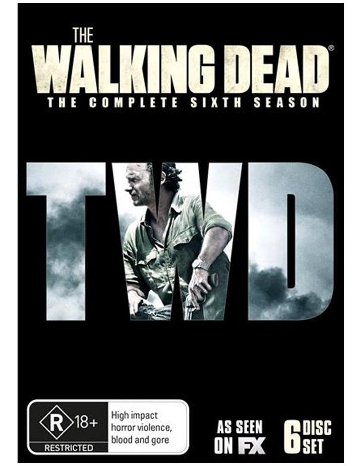 The Walking Dead - Season 6 DVD image 1