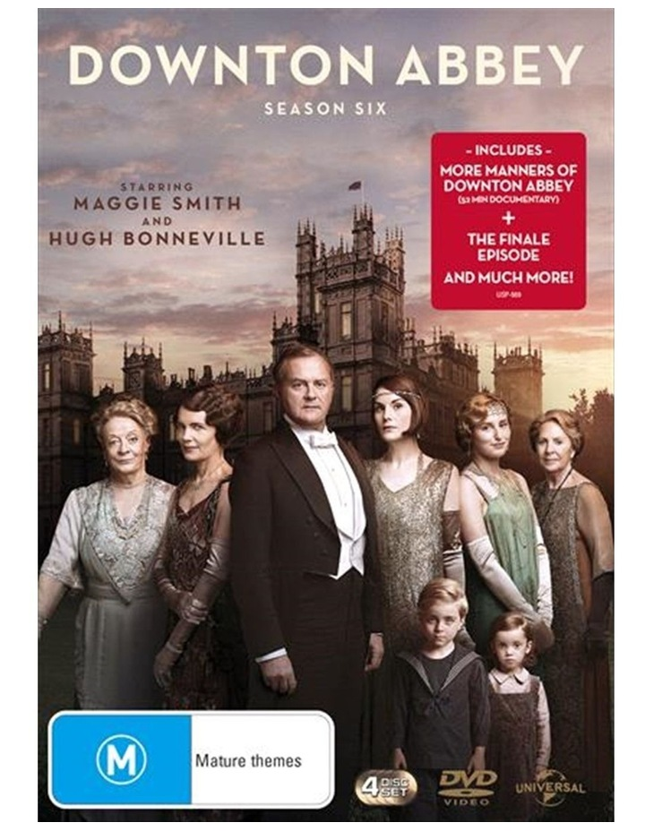 Downton Abbey - Season 6 DVD image 1