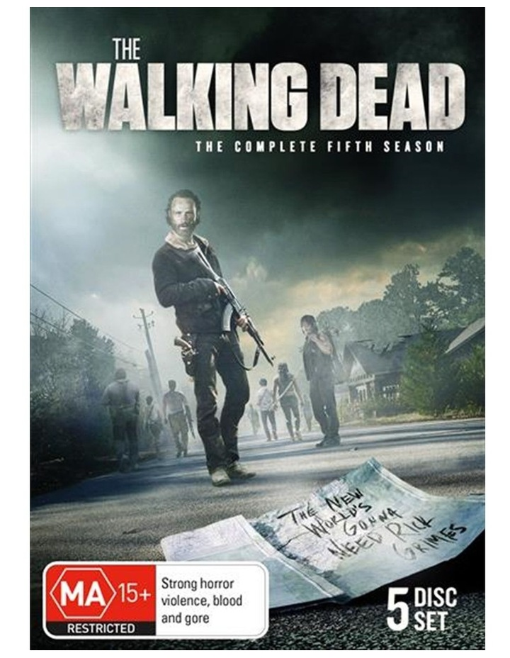 The Walking Dead - Season 5 DVD image 1