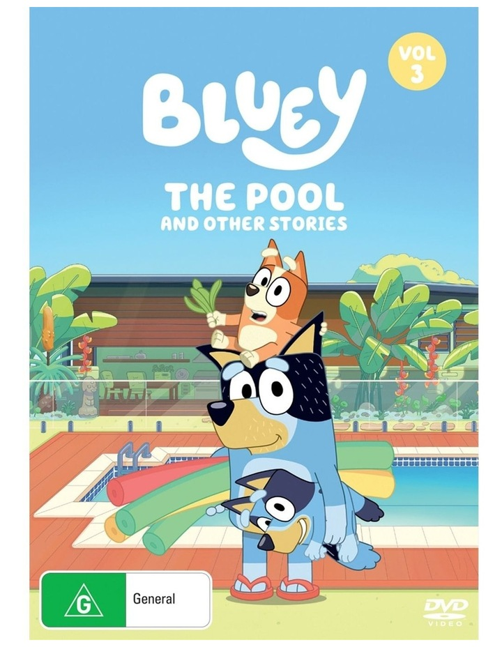 Bluey - The Pool And Other Stories - Vol 3 DVD image 1