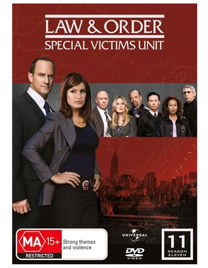Law And Order - Special Victims Unit - Season 11 DVD image 1