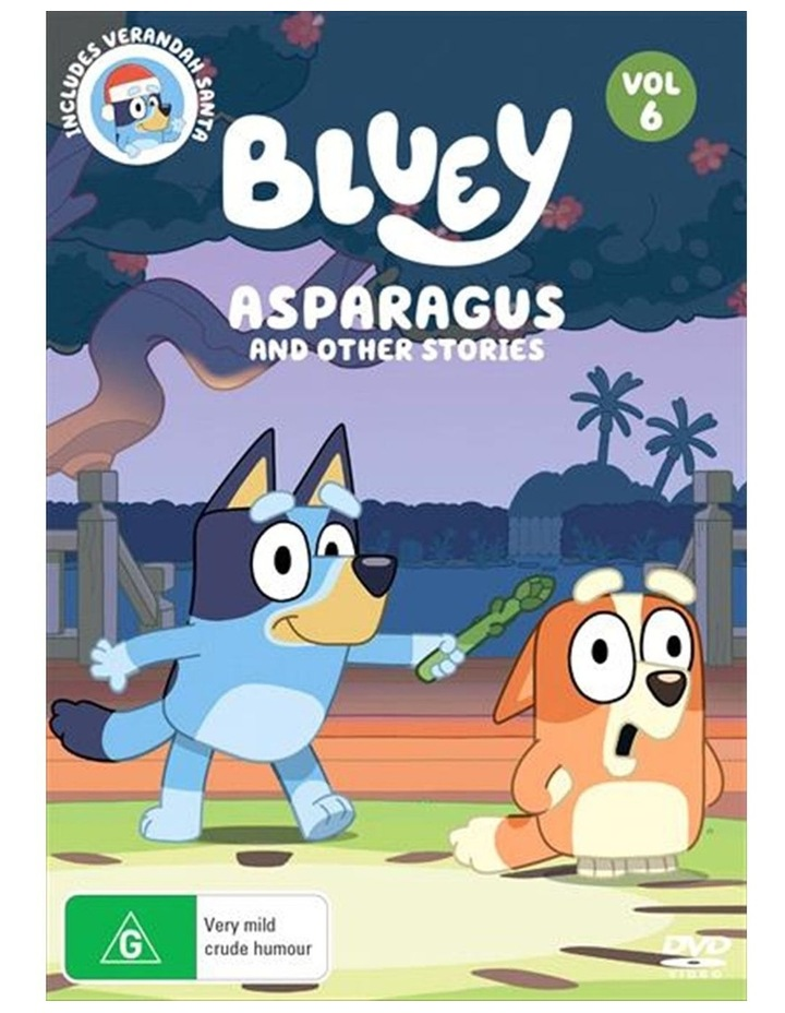 Bluey - Asparagus And Other Stories - Vol 6 DVD image 1