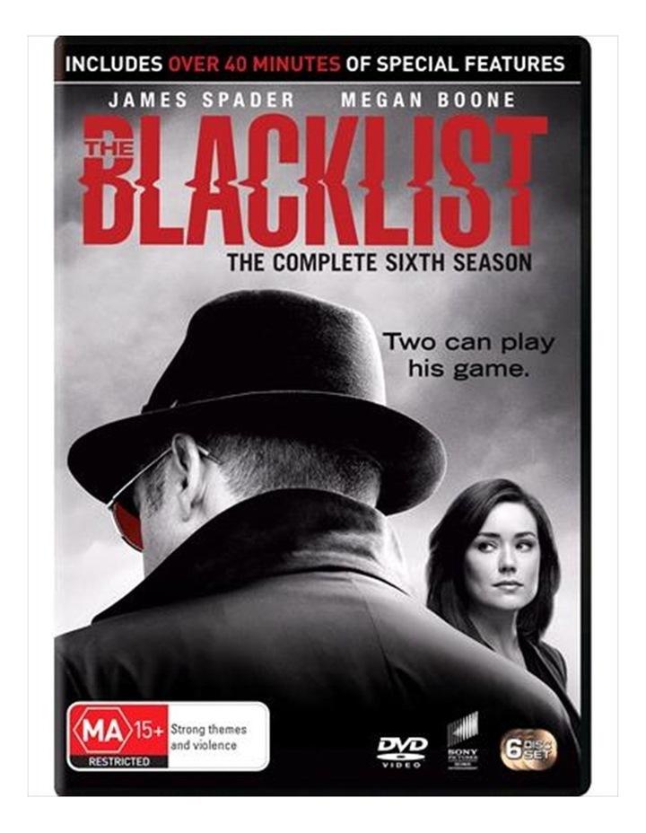 The Blacklist - Season 6 DVD image 1