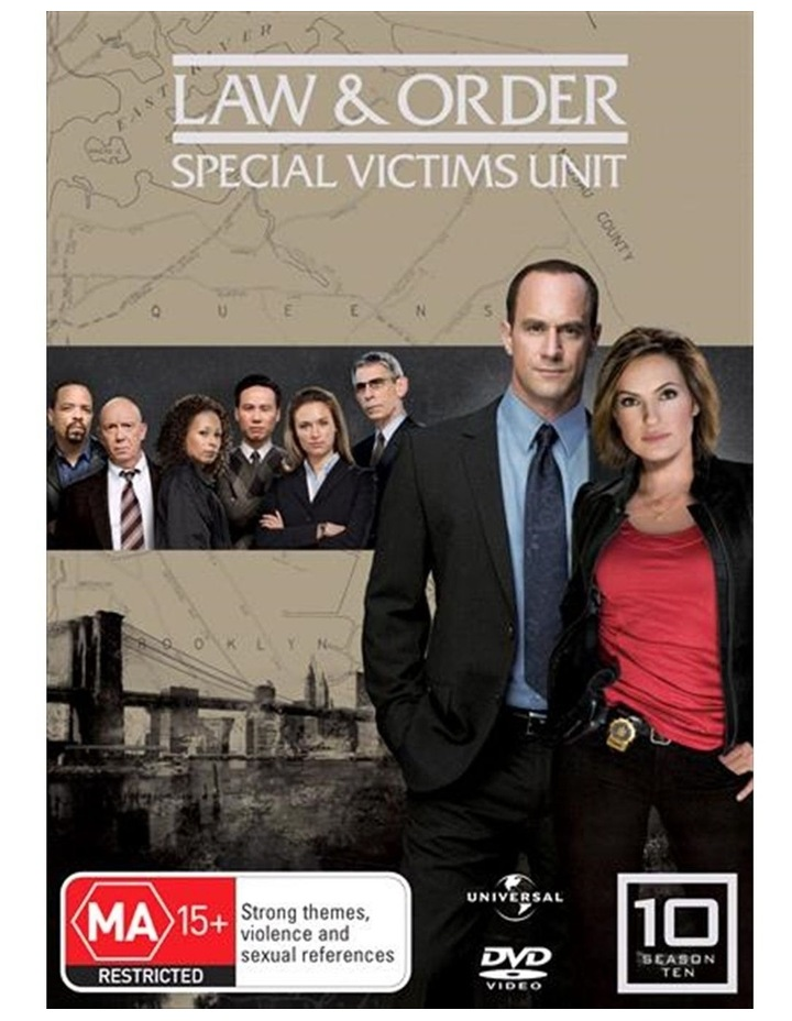 Law And Order - Special Victims Unit - Season 10 DVD image 1
