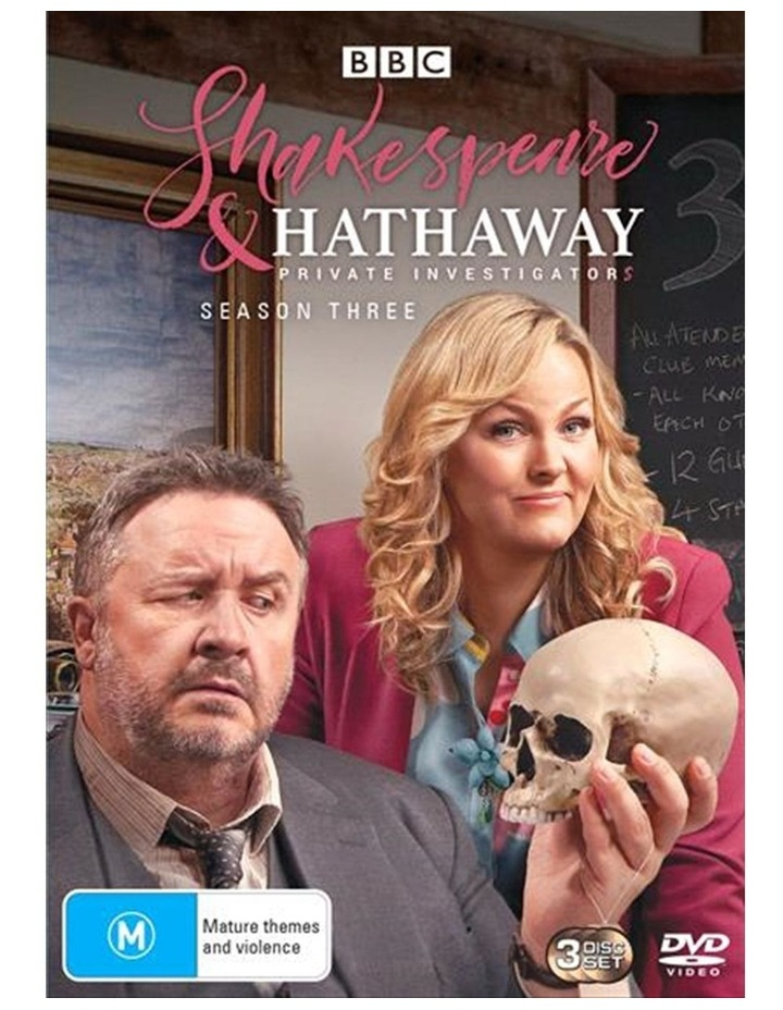 Shakespeare and Hathaway - Private Investigators - Series 3 DVD image 1