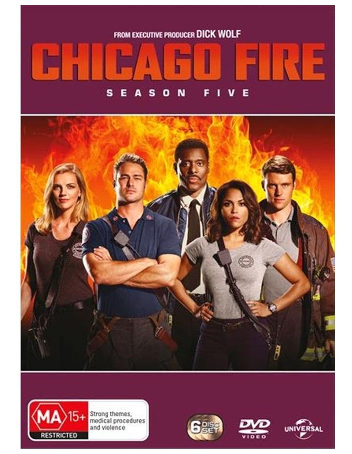 Chicago Fire - Season 5 DVD image 1
