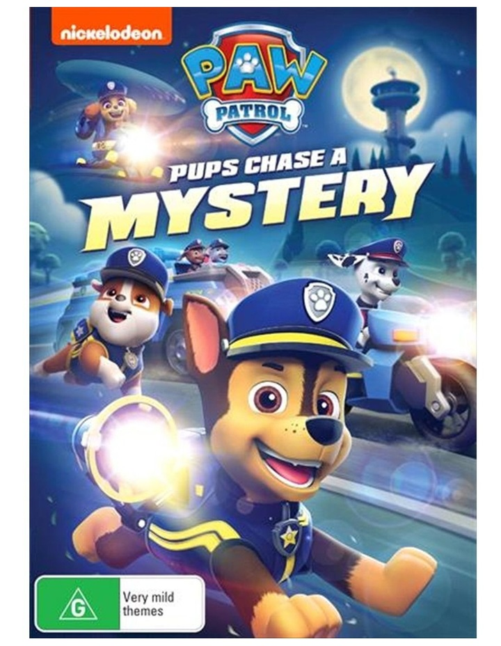 Paw Patrol - Pups Chase A Mystery DVD image 1