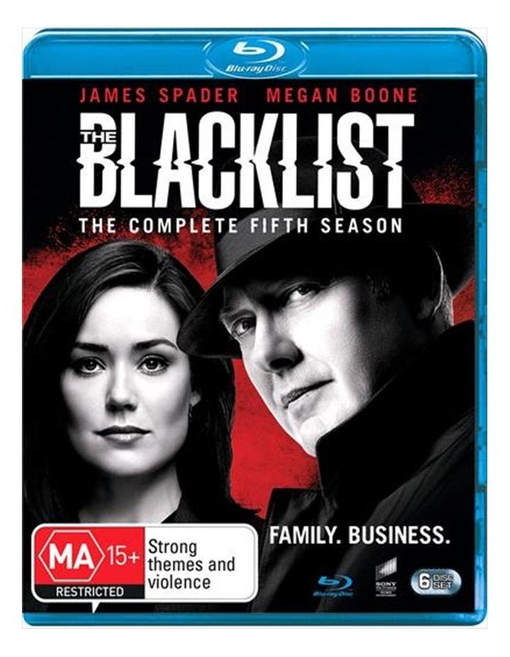 The Blacklist - Season 5 Blu-ray image 1