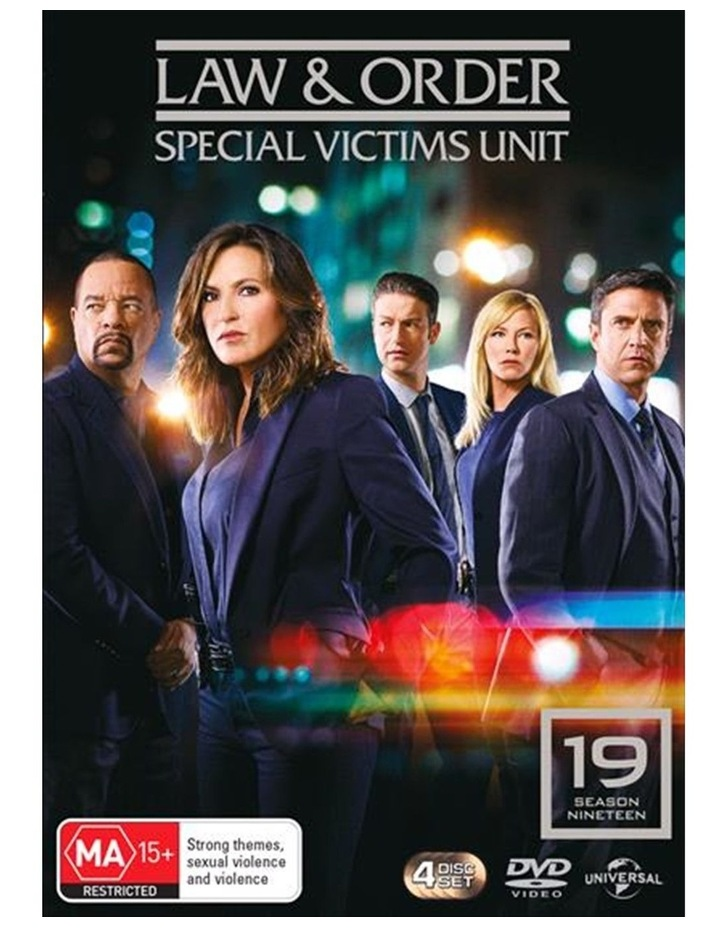Law And Order - Special Victims Unit - Season 19 DVD image 1