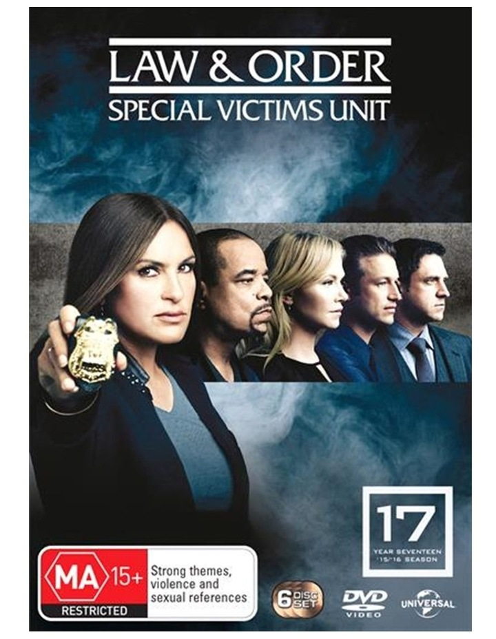Law And Order - Special Victims Unit - Season 17 DVD image 1