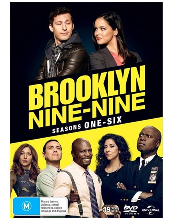 Brooklyn Nine-Nine - Season 1-6 DVD image 1