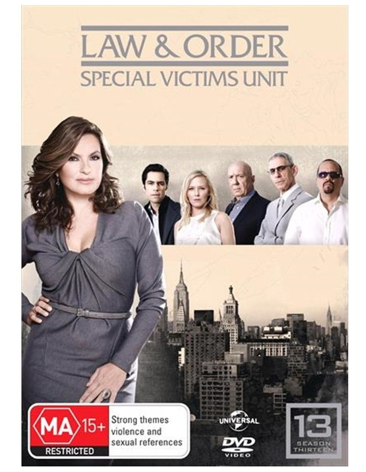 Law And Order - Special Victims Unit - Season 13 DVD image 1