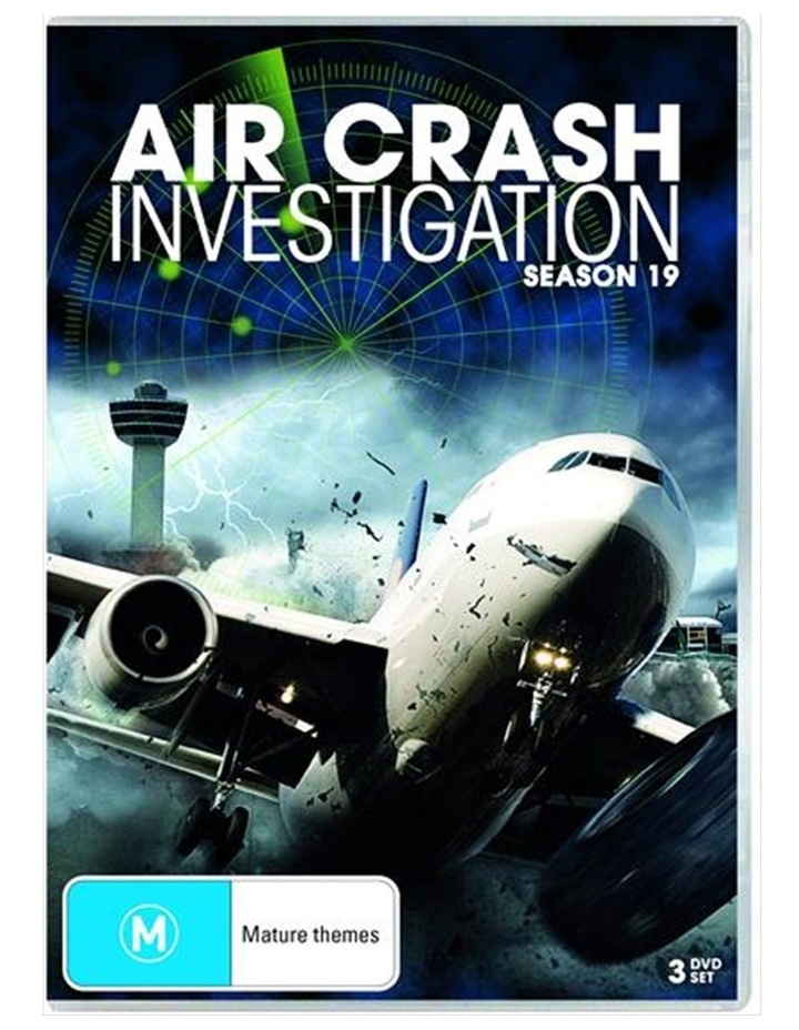 Air Crash Investigations - Season 19 DVD image 1
